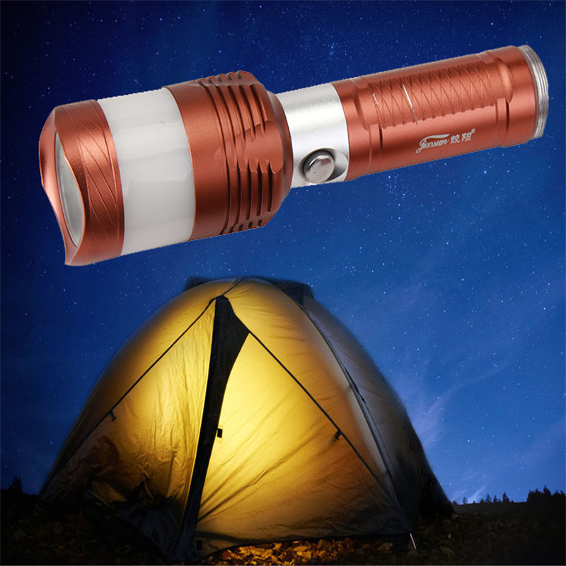 B2 Bicycle Light Zoomable XPE Bronze 5 Modes ZOOMABLE LED Flashlight Torch Set Kit Super Bright Camping & Hiking Hunting