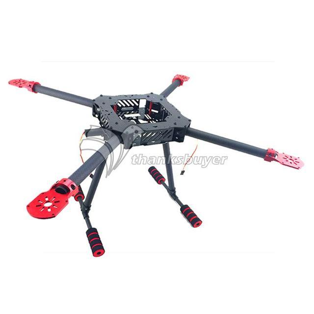 450 ММ/650 ММ Складной Зонт Форма Углеродного Волокна Quadcopter Кадров Комплекты для FPV Фото
