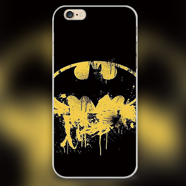 New Arrived Batman Symbol Wallpaper Design White Skin Case Cover