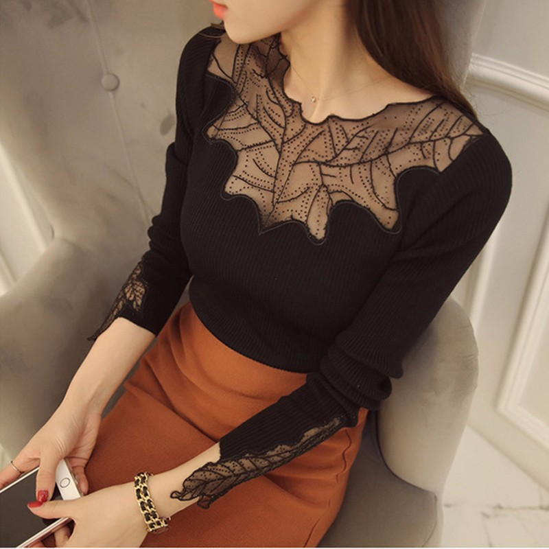 2016-New-Arrival-Women-s-Fashion-Brand-Spring-Autumn-Style-Thin-Lace-Knitted-Sweater-Women-Sexy (1)
