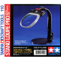 OHS Tamiya 74110 Model Table Stand Loupe Pro 1.8x Multi Coated Lens Hobby Craft Tools Accessory