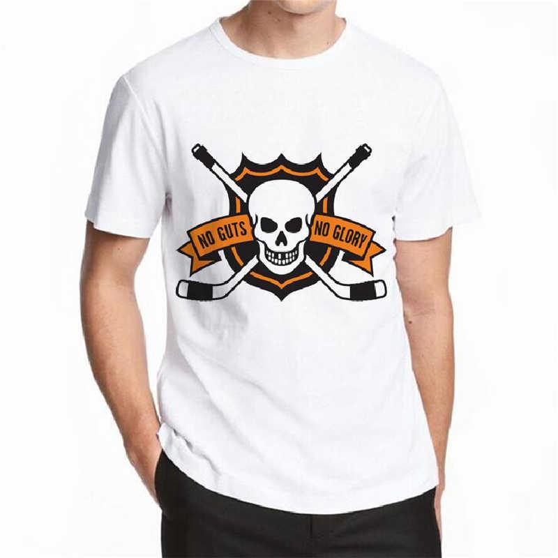 2018夏のカジュアルtシャツ男性no根性no根性no栄光による印刷カジュアルメンズtシャツファッションホワイトコットンtシャツトップス