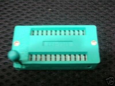 Универсальный тест ZIF DIP IC 3 м IC Разъем 24 булавки серебряные булавки 100 шт