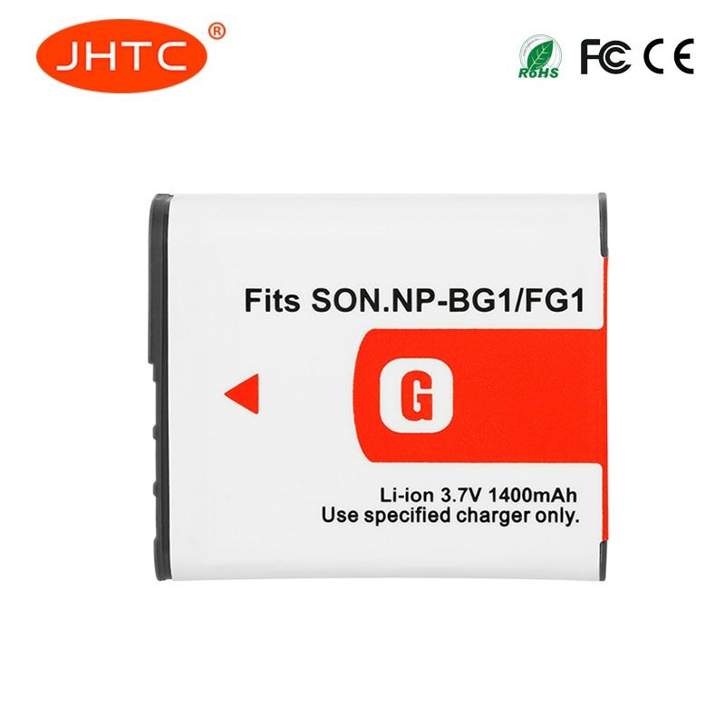цена на JHTC 1Pcs 1400mAh NP-BG1 NP BG1 Battery For SONY Cyber-shot DSC-H3 DSC-H7 DSC-H9 DSC-H10 DSC-H20 DSC-H50 DSC-H55 DSC-H70