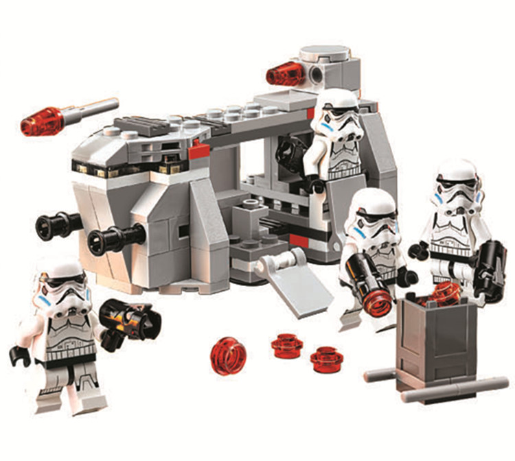 self locking bricks font b toy b font China brand star Wars Imperial Troop Transport Compatible