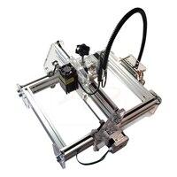 DIY мини лазерная гравировка машины 1500 МВт устройство для лазерной резки резьба Размеры 20*17 см