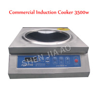 Commercial induction cooker 220v concave surface household concave induction cooker 3.5kw high power induction cooker 1pc
