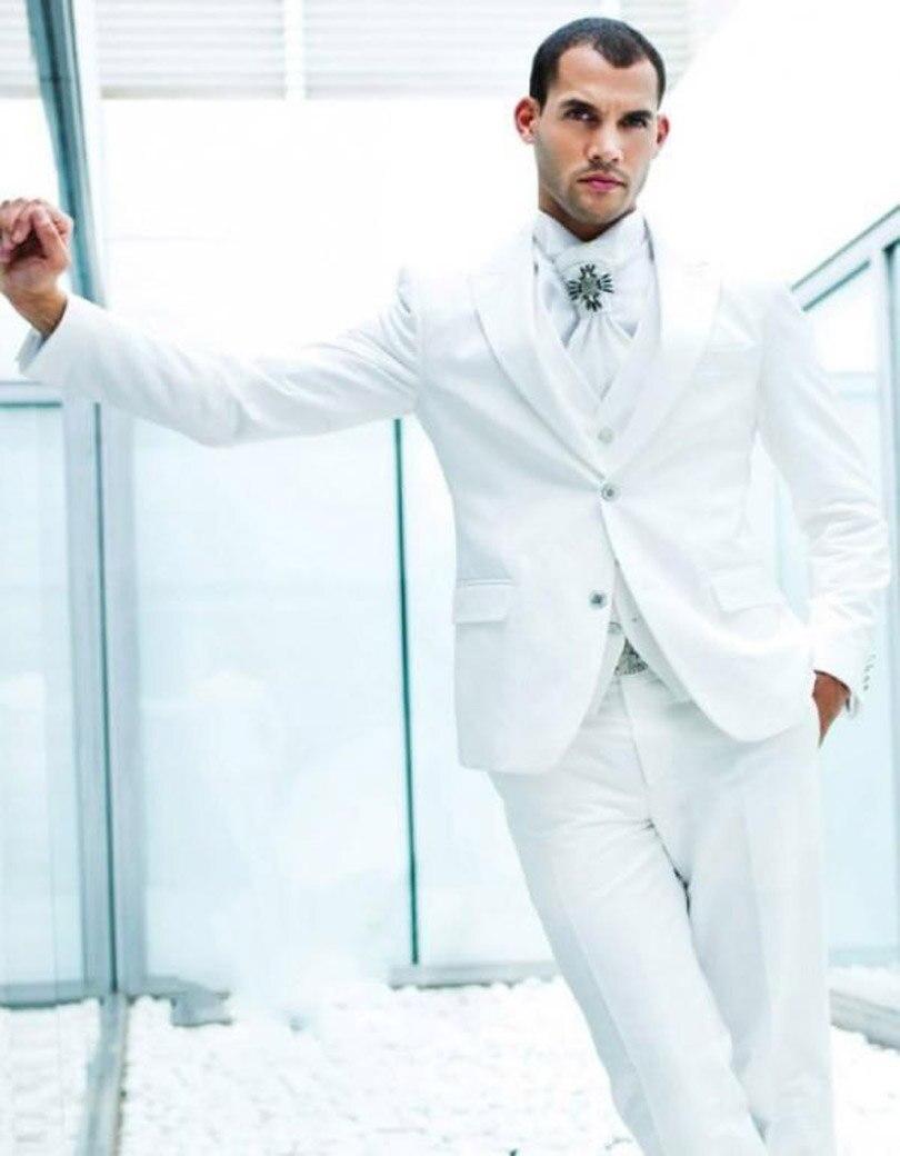 Fine All White Wedding Tuxedos Gallery - Wedding Dress Ideas ...