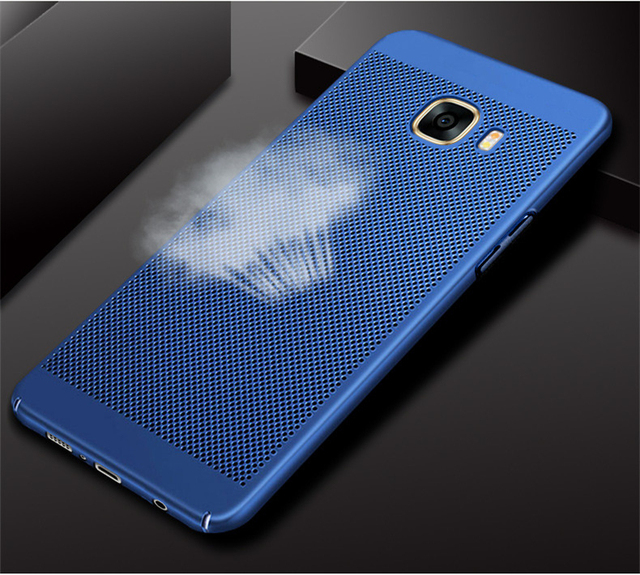 new concept 15614 24a91 US $4.99 |URSHINE for Samsung Galaxy C9 Pro C9000 Back Cover Breathable  Safe Shockproof Phone Cases for Samsung C9 Pro Case 2017 Funda-in Fitted  Cases ...