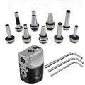 1set F1 12 2 Inch 50mm boorkop + 1 stuks draw bar Morse tapper cone MT2 MT3 MT4 C20 C25 NT30 R8 boring tool Voor CNC machine