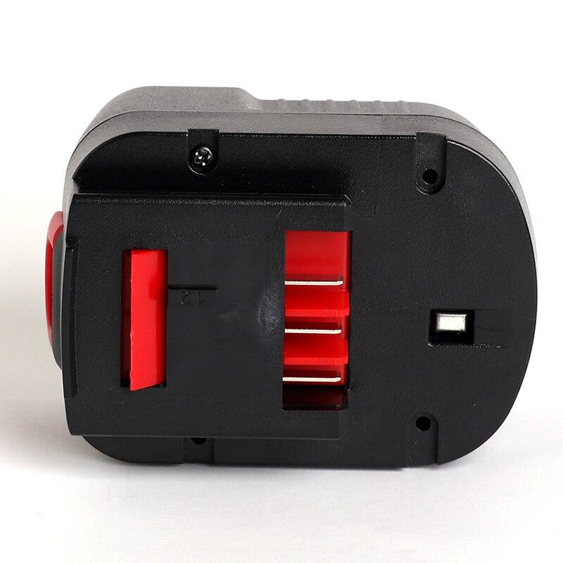 for Black&Decker 12V 3000mAh/3.0Ah power tool battery FSB12,BD1204L,BD-1204L,B-8315,BPT1047,A12,HPB12,A12-XJ,A12EX,A1712,FS120B