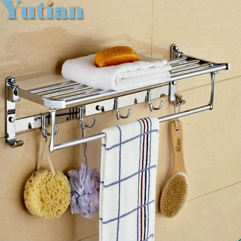 ФОТО FREE SHIPPING,solid Stainless steel Bathroom towel holder,  towel rack,bathroom accessories towel rack,wholesale,YT-4005