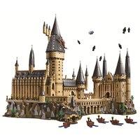 Гарри фильм серии Замок Хогвартс строительные блоки кирпичи DIY игрушки для детей Подарки, совместимые brinquedo legoINGly 71043 16060