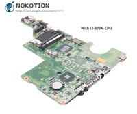 NOKOTION 637583 001 DAAX1JMB8C0 PC Motherboard For HP Pavilion G62 G42 MAIN BOARD System Board I3 370M CPU DDR3