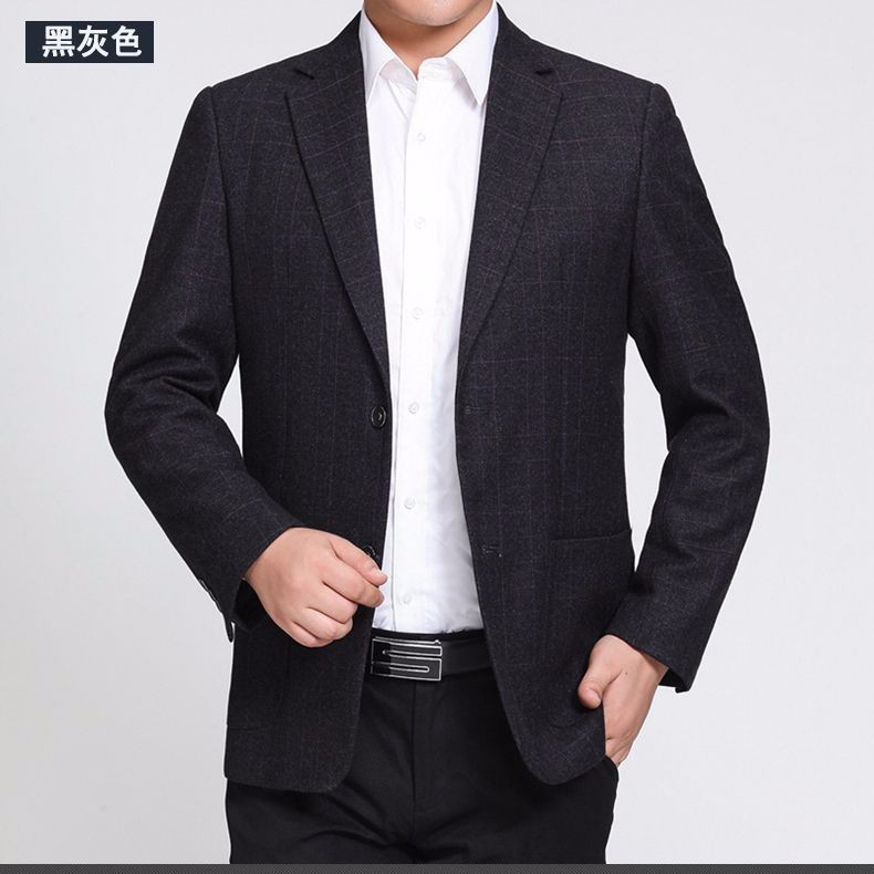Man Paid Basic Blazer Gray Black Navy Blue Red Suit Jackets Men Casual Blazers Business Office Outfits Short Slim Fit Suit Blazers 2016 (9)