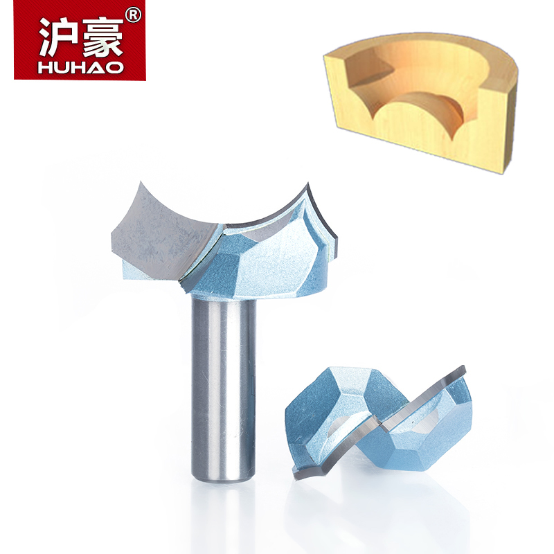 HUHAO 1pc 1/2 Shank Industrial Grade Dragon Ball Bit Round Over Top Quality Router Bits For Wood Woodworking Engraving Cutter huhao 1pcs round over router bits for wood woodworking tool 2 flute endmill with bearing milling cutter corner round over bit