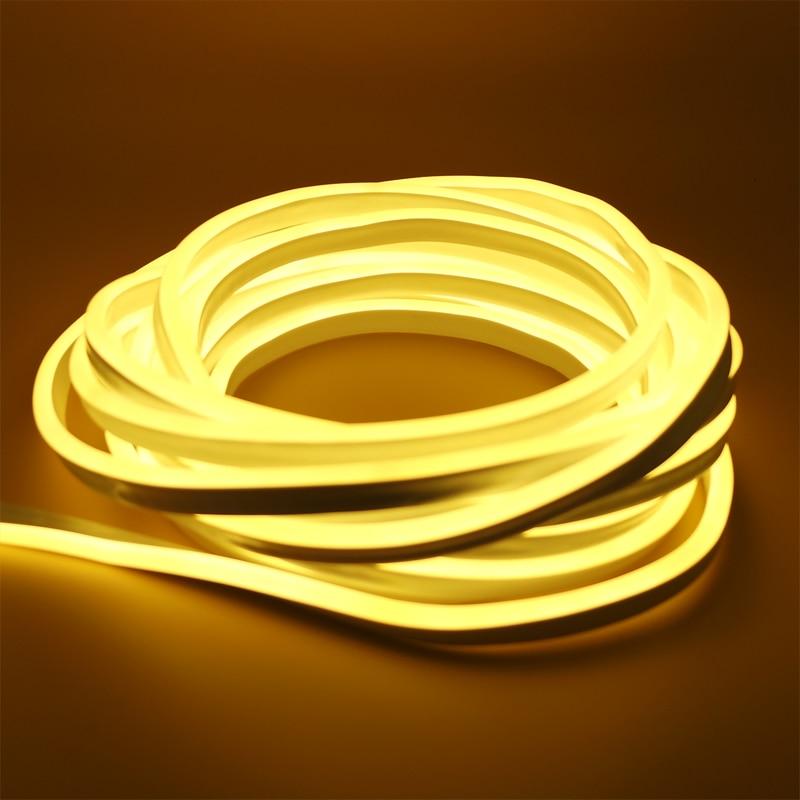 Tiras de Led led tubo de néon corda Geração de Energia : Sempre Ligado
