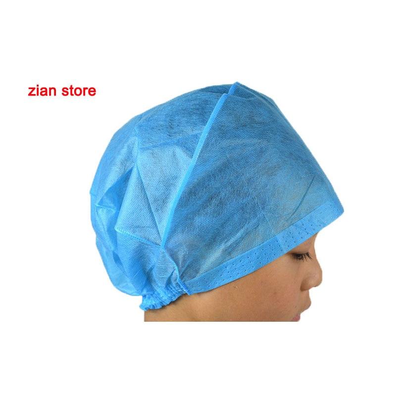 Medical Disposable Sterile Surgical Cap Blue Dust Cap