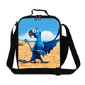 Children Cooler Bag Cartoon Rio Lunch Bag Baby Meal Package Portable Insulated Thermal Food Bag Kids Picnic Lunch Box