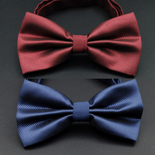 2018 New arrival 16  colors fashion bow ties party groom wedding tie men colourful plaid marriage