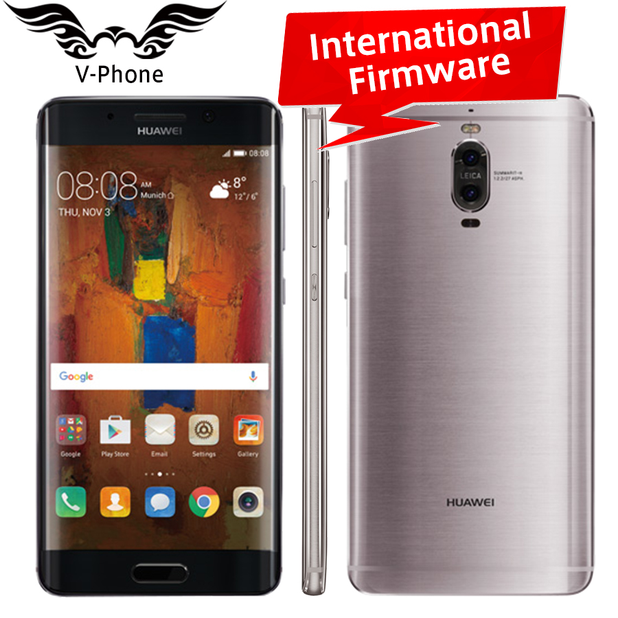 International Firmware Huawei Mate 9 Pro Mobile Phone 4G LTE 6GB RAM 12GB ROM Kirin 960 Octa Core 5.5' 2K ScreenDual Rear Camera