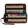 Professionelle Kunst Farbe Bleistift 72 Farbige Bleistifte Kunst Zeichnung Färbung Bleistift Set mit Tragetasche Spitzer Färbung Liefert