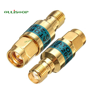 Image 4 - 2W SMA Male to Female Attenuator DC 6.0GHZ 50ohm 1 30dB Connectors RF Power Reducer Blocker