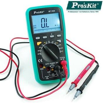Pro'skit MT-1820 3 5/6 Dual Display Multifunction Digital Multimeter High Precision USB with Computer Anti-burning Multimeter