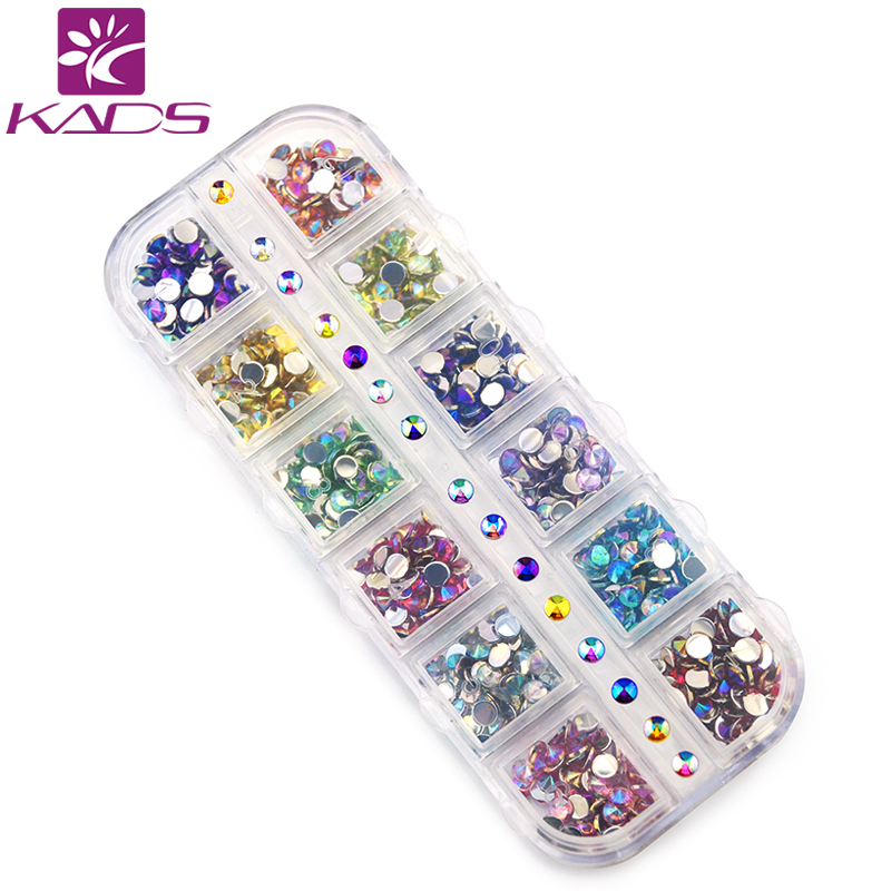 KADS AB 4mm Cone Colorful Nail Art s