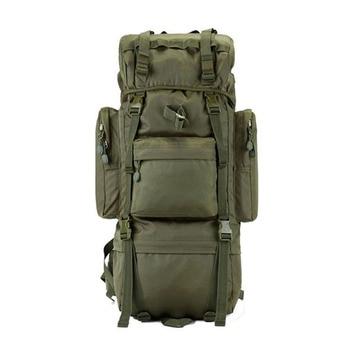 65L travel backpack nylon bags waterproof oxford wearproof leisure bag large capacity Travel bag mountaineering bag