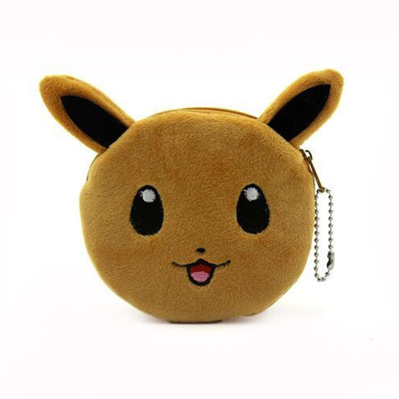 df73b889fe4 Cartoon Pokemon Pikachu Portemonnee Dieren Hello Kitty Meisjes Pluche Mini  Portemonnee Verandering Portemonnee Vrouwen Sleutel Coin Kinderen Kids Gift  in ...