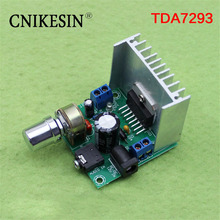 CNIKESIN (A board) TDA7297 power amplifier board 2 noise free AC and DC 12V finished plate (C6A3)