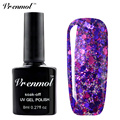 Vrenmol 1pcs Diamond Glitter UV LED Nail Gel Polish Soak Off Starry Gel Varnishes Esmaltes Base Top Coat Gel Lacquer