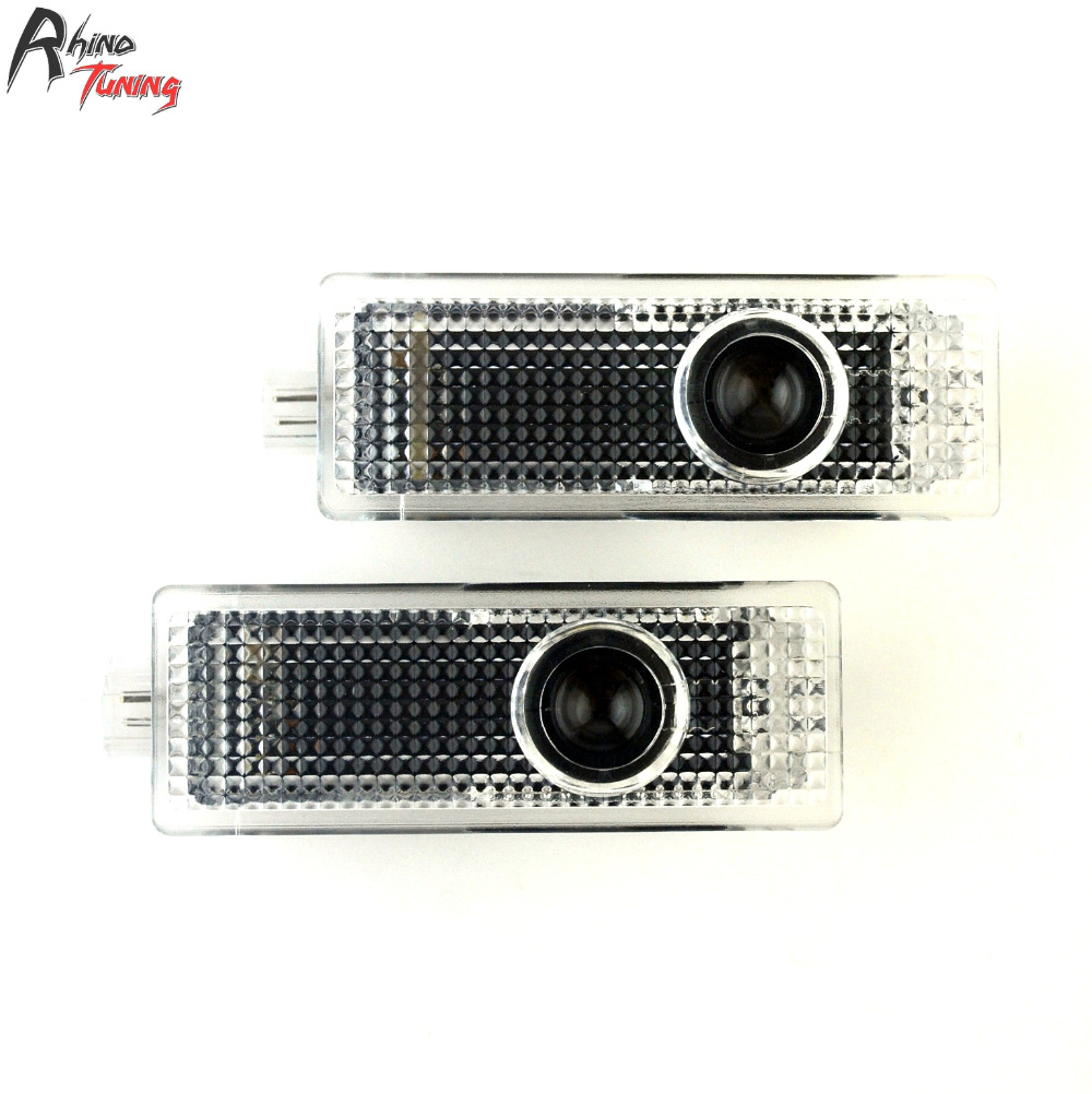 Rhino Tuning 2PC E46 E61 E90 E92 F10 F12 LED Car Step Door Courtesy Welcome Light Ghost Shadow Laser Projector 114