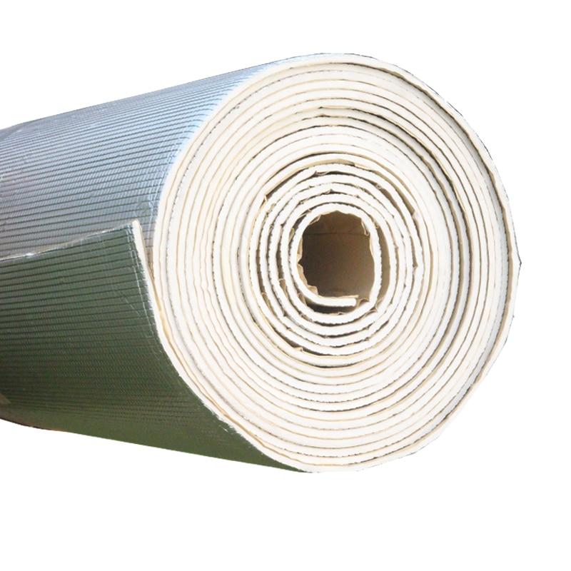 Cawanerl 400 CM X 100 CM feuille d'aluminium voiture insonorisation bouclier thermique tapis d'isolation tapis de blocage Deadener - 2