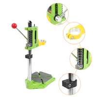 Mini Rotable Electric Drill Press Stand Carrier Bracket Table for Drills Workbench Clamp Drilling Collet 25 44mm 360 Degrees