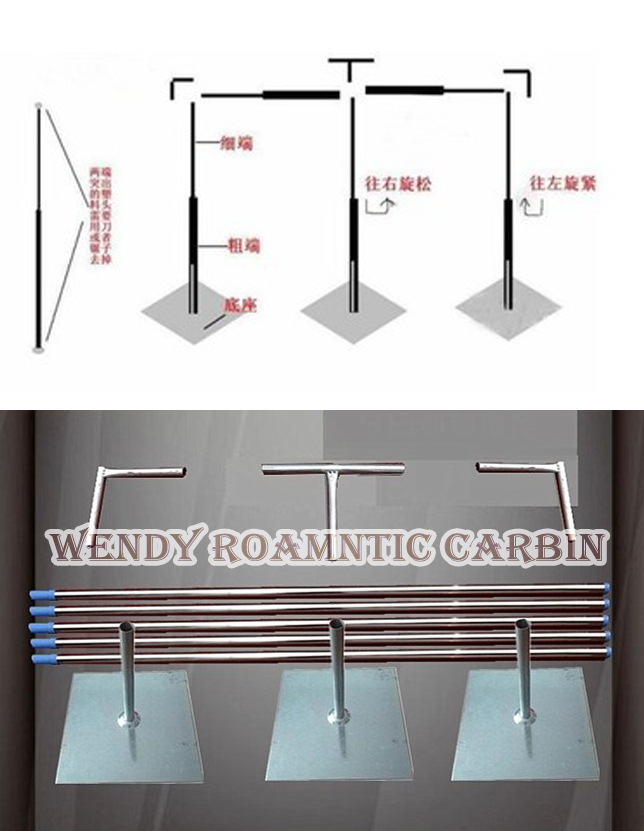 Free Shipping 3M*6M wedding backdrop stand stage curtain pipe stand Wedding Props