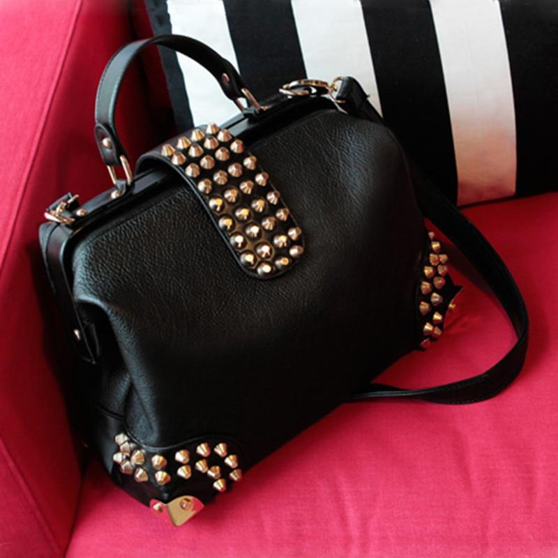 De alta calidad de la vendimia bolso de la manija superior de moda - Bolsos - foto 2