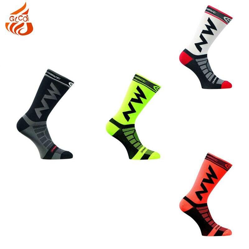Riding Cycling Socks Bicycle Sports Socks Breathable Socks Basketball Football Socks Fit For 39-46