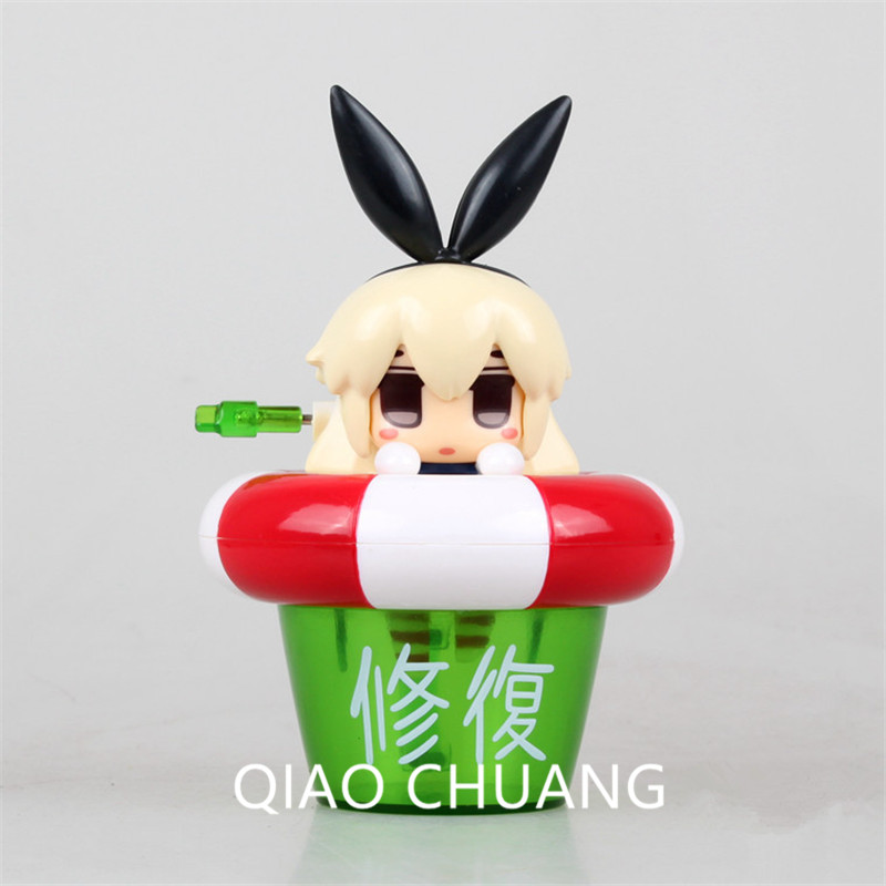 Фигурку японского аниме Kantai коллекция shimakaze в Ванная комната дрейфующих 10 см ПВХ в версии модель корабля девушка кукла G430