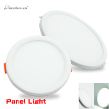 LED Square/Round Aluminum Ceiling Light Panel Lights 220V Surface Mounted Downlight  Living Room Bedroom 6W 8W 15W 20W