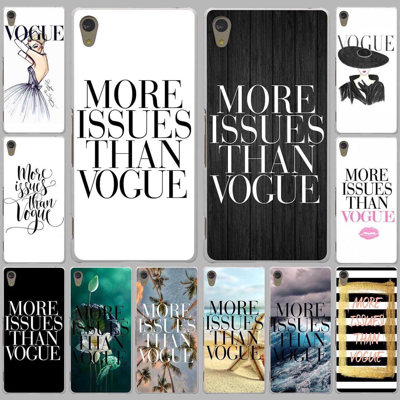 Design poster k3 - Brand New More Issues Than Vogue Poster Case For Lenovo Vibe K3 K4 K5 K6 Note