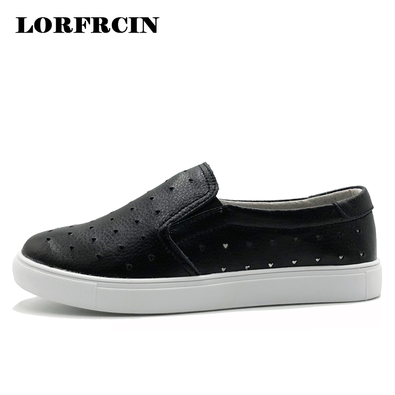 Spring Summer Women's Casual Shoes Sneakers Genuine Leather Flats Loafers For Women Creepers Comfortable Soft Bottom Shoes Woman top brand high quality genuine leather casual men shoes cow suede comfortable loafers soft breathable shoes men flats warm