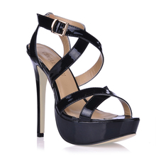 2016 New Sexy Party Shoes Women Stiletto High Heels Ladies Sandals Zapatos Mujer 3463SL-a2 2017 summer red satin elegant wedding bridal shoes women stiletto high heels pears chain ladies sandals zapatos mujer 0640a 13k