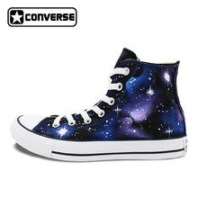 cd38376cf2 Sneakers Galaxy Converse Chuck Taylor High Top Washable Custom Hand Painted  Shoes Men Women Gifts(