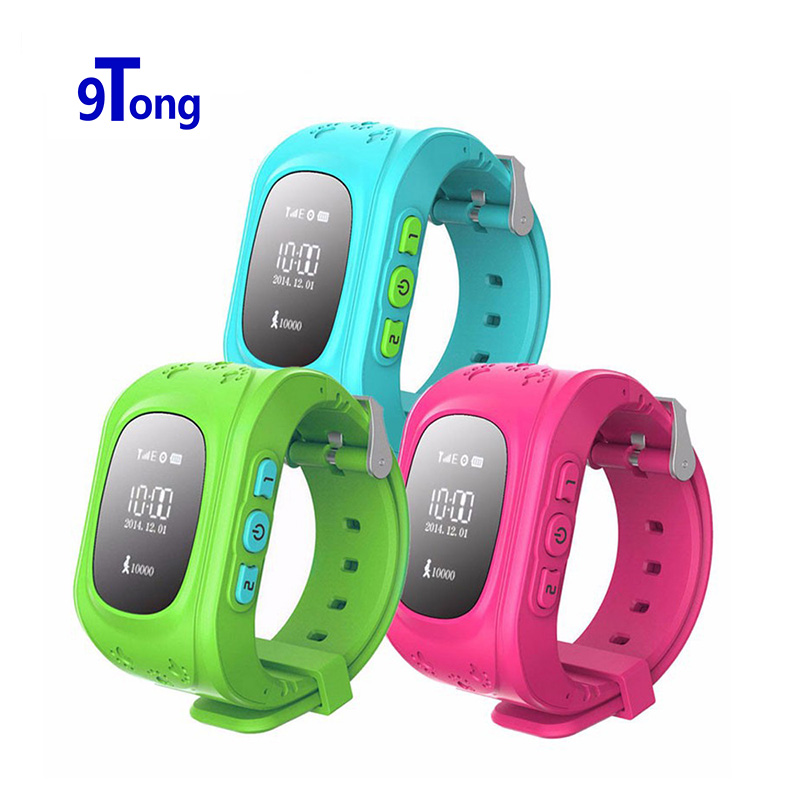 Smart Watch Kids GPS Watch Clock Wristwatch Q50 GSM GPRS GPS Locator Tracker Anti Lost Smartwatch