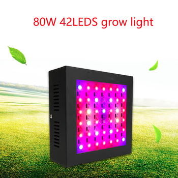 Mini Black 80W LED Growing Lamps AC85-265V Full Spectrum Plant Lighting For Greenhouse Hydroponics Flowers Plants Vegetables