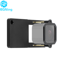 Aluminiowy przełącznik wspornika kamery sportowej dla Gopro Hero 7 6 5 4 sesja stabilizator statywu złącze Gimbal Mount