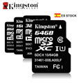 ES Stock Original Kingston Micro SD Card 8GB 16GB 32GB 64GB Class10 Memory Card Micro SD TF Flash Microsd Card Cartao de Memoria