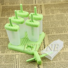 Frozen Ice Cream Mould Popsicle Maker Lolly Mould Tray Pan Kitchen  Pop Mold for kitchen accessories 2500 per day frozen ice cream pop mold popsicle maker with 1 mould